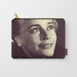 Maria Schell, Vintage Actress Carry-All Pouch