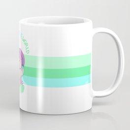 """Ignore the world."" Coffee Mug"