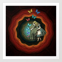 Alice In Wonderland - Let The Magic Begin Art Print