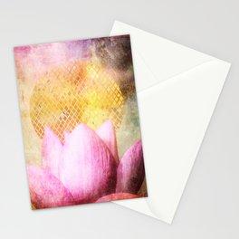 Lotus Sun Stationery Cards