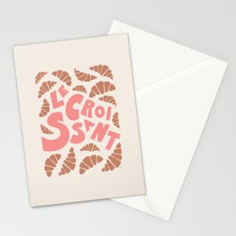 Le Croissant French Stationery Cards