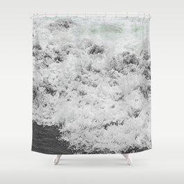 Minty Splash Shower Curtain