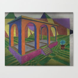 The Geometer's Palace Canvas Print