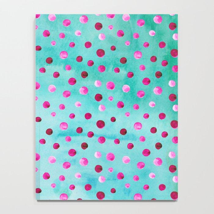 Polka Dot Pattern 05 Notebook