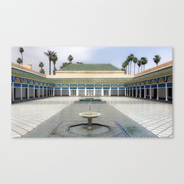 Palace in Morocco Canvas Print