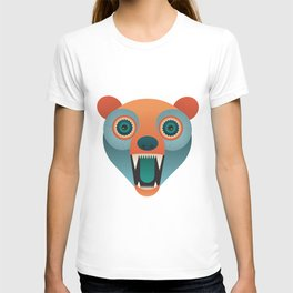 Geometric Bear T-shirt