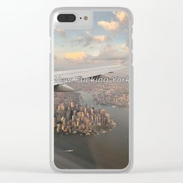 New Fucking York Clear iPhone Case