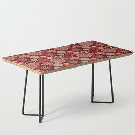 Circle Frenzy - Red Coffee Table