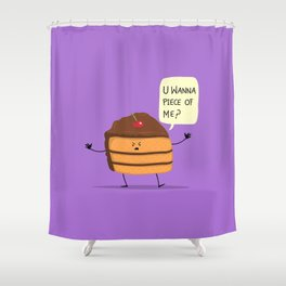 Trouble Caker! Shower Curtain