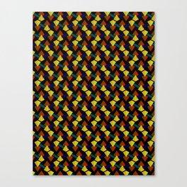Pyramid lines Canvas Print