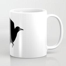 Ragged Raven Silhouette Coffee Mug