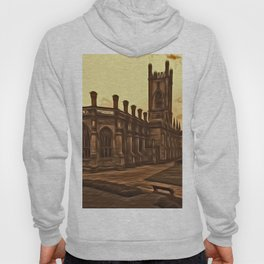 WW2 Bombed out Church Liverpool (Digital Art) Hoody