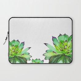 green succulent 2 Laptop Sleeve