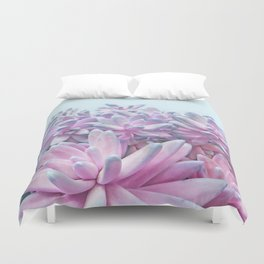 Sweet Succulents Duvet Cover