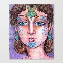 I Am Wondrous Sweet Canvas Print