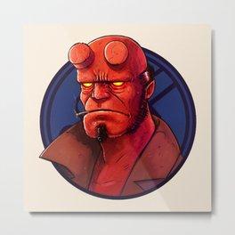 Hell Boy by Tom Walker Metal Print