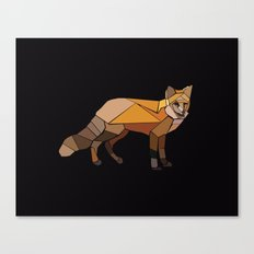Night Fox Canvas Print