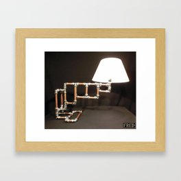 Articulated Desk Lamps - Copper and Chrome Collection - FredPereiraStudios_Page_10 Framed Art Print
