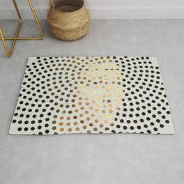 Optical Illusions - Famous Work of Art 5 Rug
