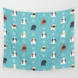 Shih Tzus Wall Tapestry