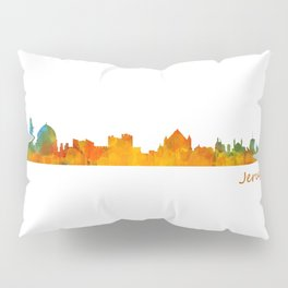 Jerusalem City Skyline Hq v1 Pillow Sham