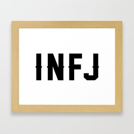 INFJ Framed Art Print