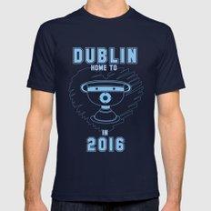 All Ireland Football Champions - Dublin (Navy/Blue) SMALL Navy Mens Fitted Tee