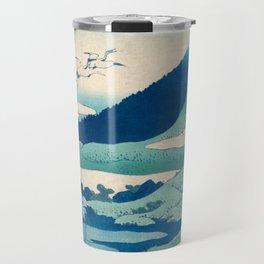 Katsushika Hokusai, Thirty-six Views of Mount Fuji Travel Mug