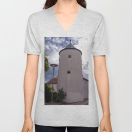 DE - Baden-Wurttemberg : Castle tower Unisex V-Neck