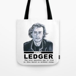Heath Ledger Tote Bag