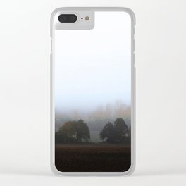 MISTY OCTOBER DAY-VI Clear iPhone Case