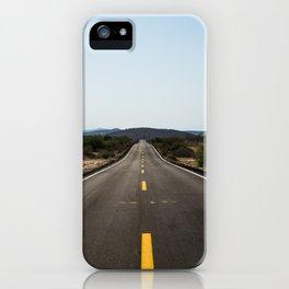desert roads iPhone Case