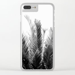 Tropical Leaves Dream #3 #tropical #decor #art #society6 Clear iPhone Case