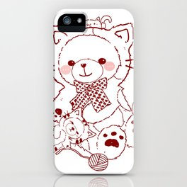 The Adventures of Bear and Baby Bear-Cats iPhone Case
