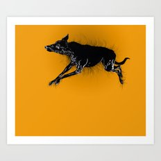 Biko sleeping Two Art Print
