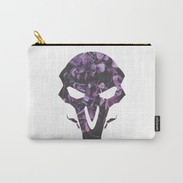 Reaper Purple Floral Carry-All Pouch