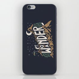 Wo/aNDER iPhone Skin