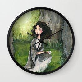 Through the Stones Wall Clock