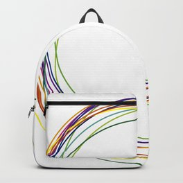 color circles Backpack