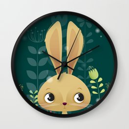 Bunny! Wall Clock