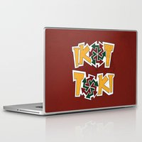 philippines Laptop & iPad Skins featuring IkoToki: University of the Philippines, Diliman by Franchie