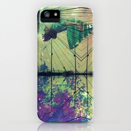 Bridging Time iPhone Case