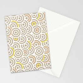Cute Pastel Color Pattern Stationery Cards