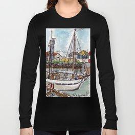 The Harbour, Figueira Da Foz, Portugal Long Sleeve T-shirt