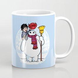 Inflatable Snowman Coffee Mug