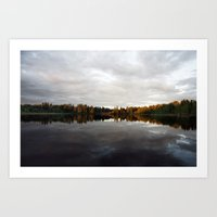 Long Lake BC Art Print