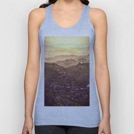 Sunset in Cyprus Unisex Tank Top