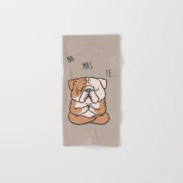 NAMASTE English Bulldog Hand & Bath Towel