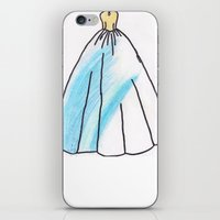 ravenclaw iPhone & iPod Skins featuring Ravenclaw Dress by AlwaysRiverose