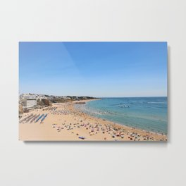 One day at the beach Metal Print